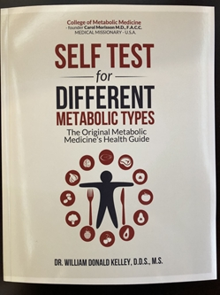 SELF TEST FOR DIFFERENT METABOLIC TYPES