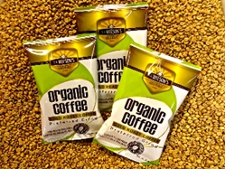 20 POUNDS GOLD ROAST COFFEE CERTIFIED ORGANIC (PREFERRED GRIND)