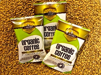 5 POUNDS GOLD ROAST COFFEE CERTIFIED ORGANIC (PREFERRED GRIND)